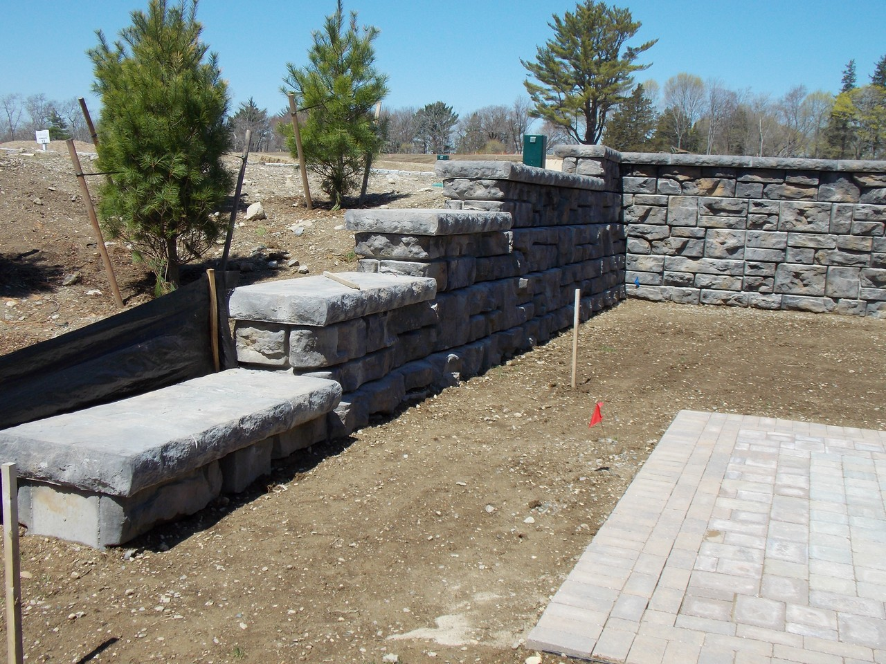 Estates at Cohassett Retaining Wall Services, Cohassett, MA