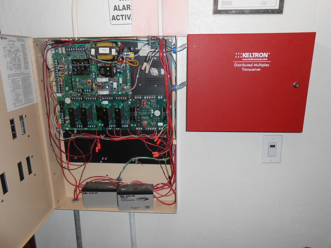 Dartmouth College Campus Fire Alarm - Hanover, NH