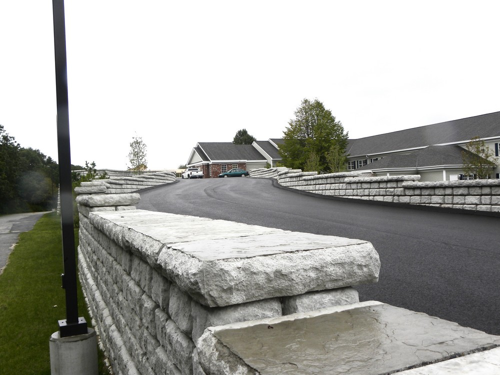 Cape Cobble Ramp Wall